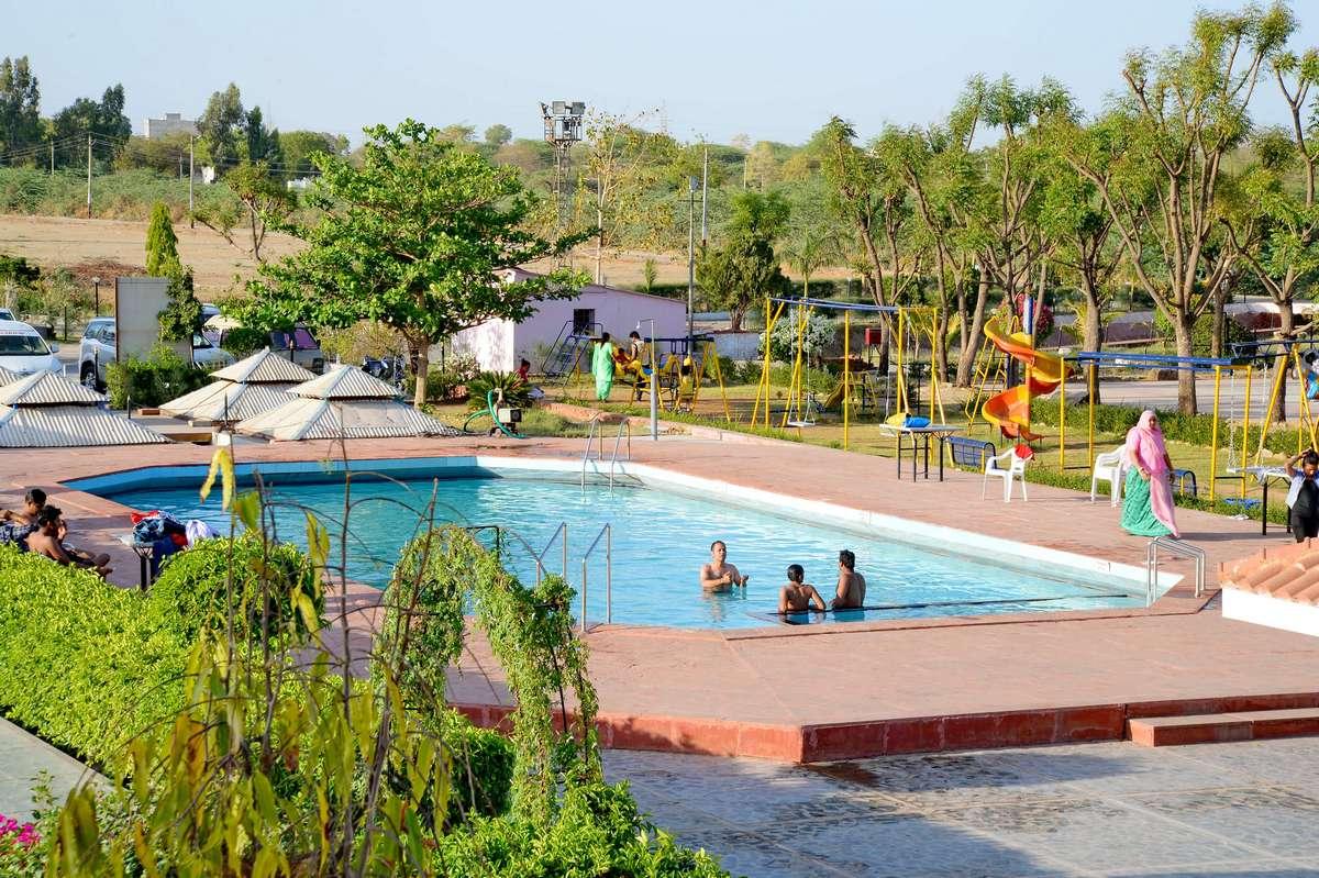 Swimming Pull Rupis Resort Udaipur